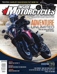 online magazine - Inside Motorcycles • Vol. 21, Iss. 03/04 • July/August 2018