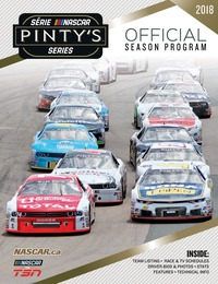 online magazine - NASCAR Pinty's Series Official Season Program 2018