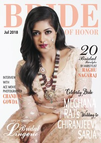 online magazine - Bride of Honor Magazine July 2018 Issue