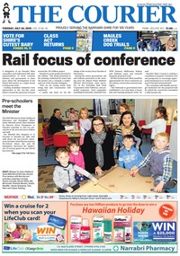 online magazine - The Courier and Wee Waa News, July 24, 2018