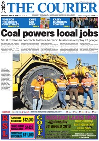 online magazine - The Courier, July 26, 2018