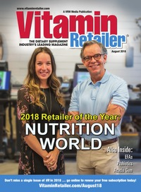 online magazine - Vitamin Retailer August 2018