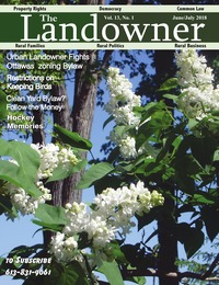online magazine - The Landowner Magazine - June / July 2018 Volume 13 Number 1