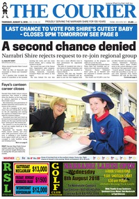 online magazine - The Courier, August 2, 2018