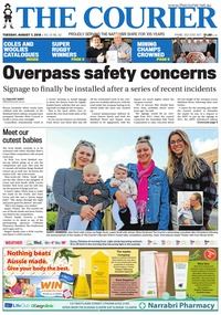 online magazine - The Courier and Wee Waa News, August 7, 2018