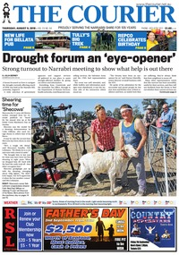 online magazine - The Courier, August 9, 208