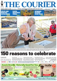 online magazine - The Courier and Wee Waa News, August 14, 2018