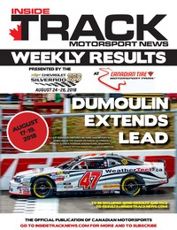 online magazine - Inside Track Motorsport News - Weekly Results - August 21, 2018