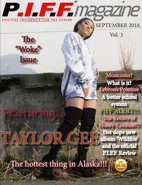 online magazine - P.I.F.F. Magazine Issue 3.1 Woke Issue Sept 2018