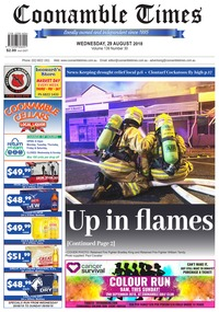 online magazine - Coonamble Times, 29 August 2018