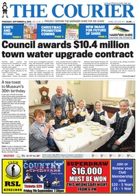 online magazine - The Courier, September 6, 2018