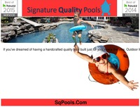 online magazine - Signature quality pools