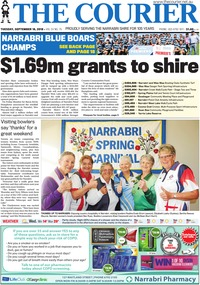 online magazine - The Courier and Wee Waa News 180918