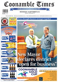 online magazine - Coonamble Times, 19 September 2018