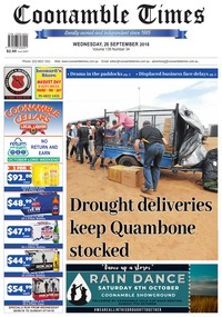 online magazine - Coonamble Times, 26 September 2018