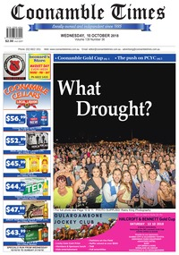online magazine - Coonamble Times October 10,2018