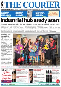 online magazine - The Courier and Wee Waa News, October 16, 2018