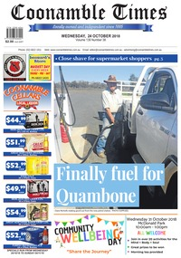 online magazine - Coonamble Times, 24 October 2018