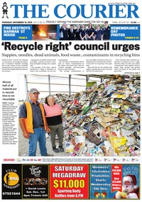 online magazine - The Courier, November 15, 2018