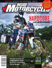 online magazine - Inside Motorcycles • Vol. 21, Iss. 07 • December 2018
