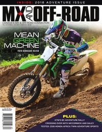 online magazine - MX and Off-Road • Vol. 17, Iss. 03 • Fall 2018