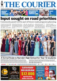 online magazine - The Courier, November 22, 2018