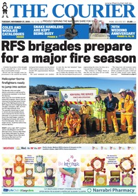 online magazine - The Courier and Wee Waa News, November 27, 2018
