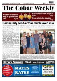 online magazine - The Cobar Weekly December 5, 2018