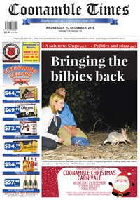 online magazine - Coonamble Times, 12 December 2018