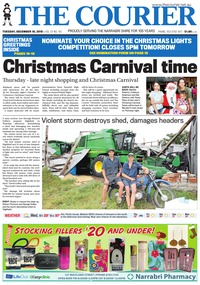 online magazine - The Courier and Wee Waa News, December 18, 2018