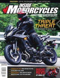 online magazine - Inside Motorcycles • Vol. 21, Iss. 08 • January 2019