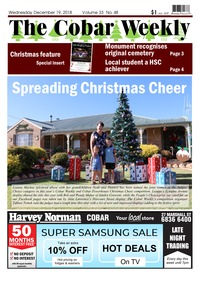 online magazine - The Cobar Weekly December 19, 2018