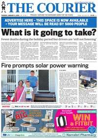 online magazine - The Courier and Wee Waa News, January 8, 2019