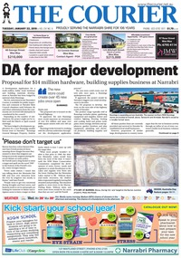 online magazine - The Courier and Wee Waa News, January 22, 2019