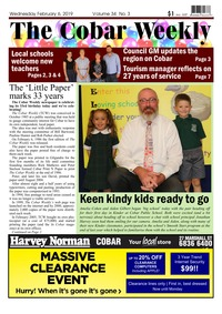 online magazine - The Cobar Weekly, February 6, 2019