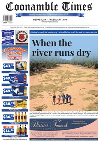 online magazine - Coonamble Times, 13 February 2019