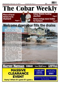 online magazine - The Cobar Weekly Feb 13, 2019