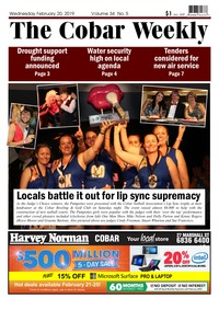 online magazine - The Cobar Weekly February 20, 2019