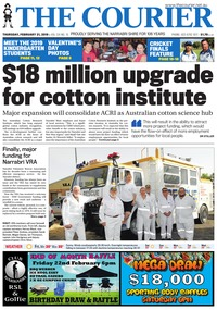 online magazine - The Courier, February 21, 2019