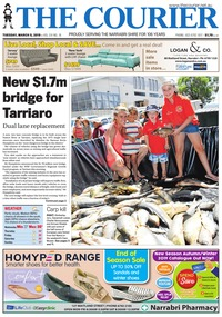 online magazine - The Courier and Wee Waa News, March 5, 2019