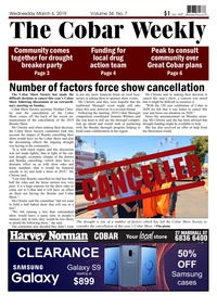 online magazine - The Cobar Weekly March 6, 2019