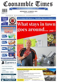 online magazine - Coonamble Times, 20 March 2019