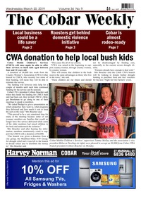 online magazine - The Cobar Weekly March 20, 2019