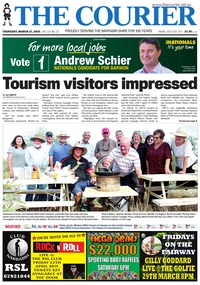 online magazine - The Courier, March 21, 2019