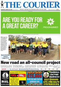 online magazine - The Courier, March 28, 2019