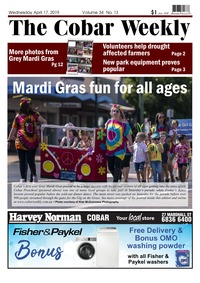online magazine - The Cobar Weekly April 17, 2019