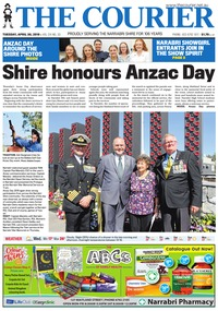 online magazine - The Courier and Wee Waa News 190430