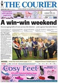 online magazine - The Courier and Wee Waa News 190507
