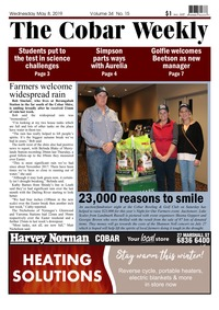 online magazine - The Cobar Weekly May 8, 2019