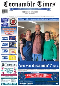 online magazine - Coonamble Times May 8, 2019
